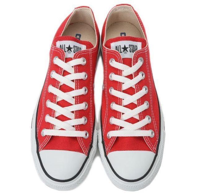 コンバースオールスターの靴ひもの結び方 コンバース